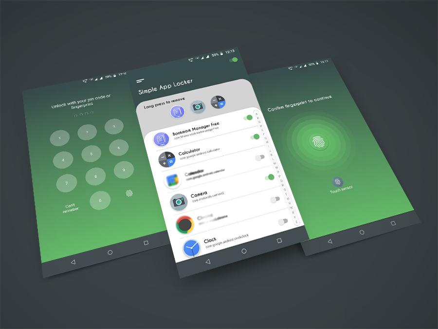 [Google Play Store] Simple App Locker - Protect Apps - App Protector