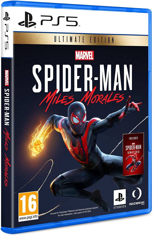 Marvel's Spider-Man: Miles Morales Ultimate Edition (PEGI) inkl. Spider-Man Remastered [PlayStation 5]