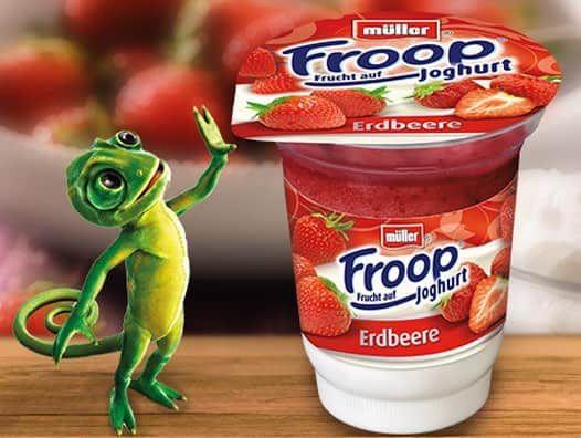 [Penny] (Rewe mit App) Müller Froop Joghurt mit Marktguru Cashback für effektiv 0,07€ (0,09€)
