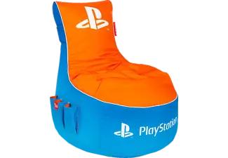 GAMEWAREZ PlayStation Vivid - Sitzsack in Blau/Orange (Basis = Classic-Serie)