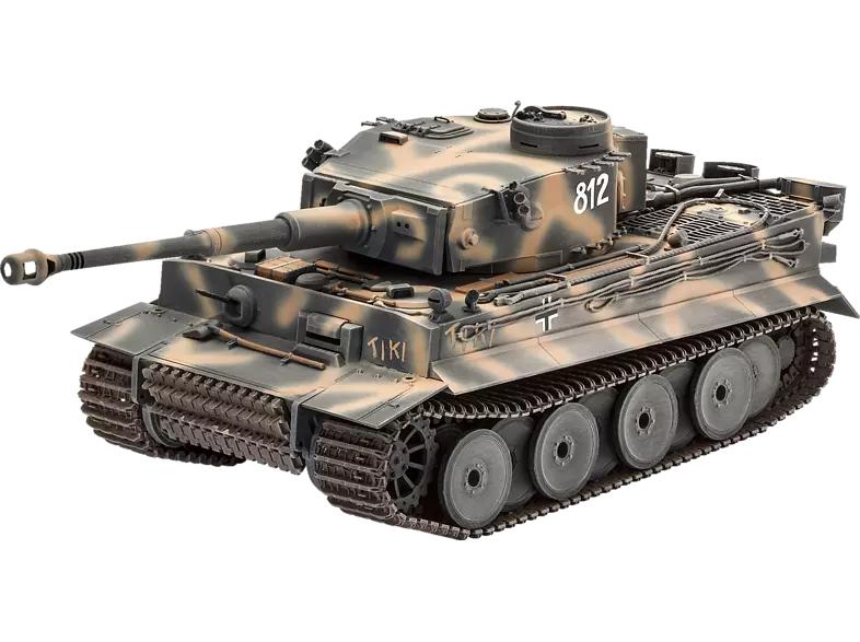 REVELL Geschenkset - 75 Jahre Tiger I Modellbausatz 1:35, Mehrfarbig inkl. Farben, Kleber etc. (Marktabholung , Versand +2,99€) MediaMarkt