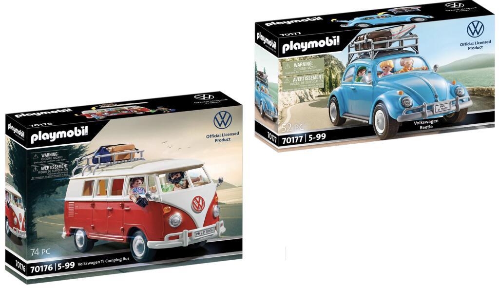 Playmobil Volkswagen T1 Camping Bus (70176) für 39,95€ o. Käfer (70177) für 32,95€ [Real]