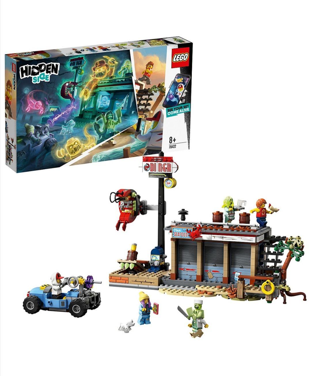 Lego Hidden Side 70422 Angriff auf die Garnelenhütte