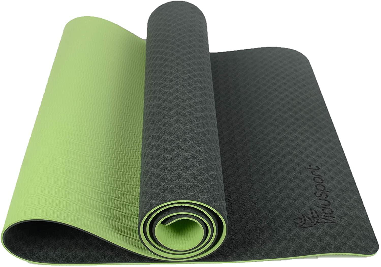 FiduSport Yogamatte (verschiedene Farben, TPE, 183x61x0.6cm, 840g)