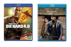 [TheHut] Training Day und Die Hard 4.0 zusammen für 14,27 €