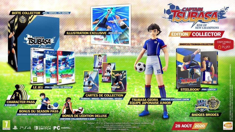 CAPTAIN TSUBASA: Rise Of New Champions (Collector's Edition) PS4 (Spanische Version)
