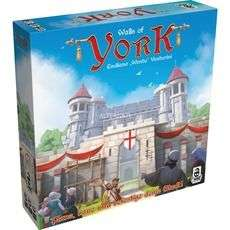 [Alternate] Asmodee Walls of York, Brettspiel, 2-4 Spieler,