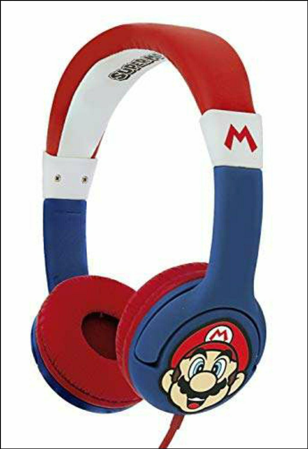 OTL Technologies - Super Mario - Kopfhörer mit Kabel
