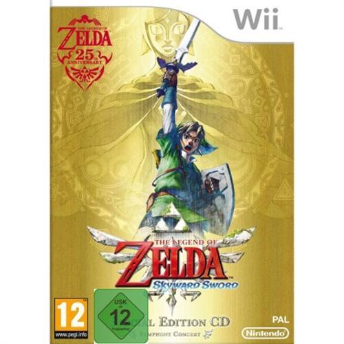 Wii  The Legend of Zelda : Skyward Sword inkl. Orchestra-CD für nur 27,65 EUR inkl. Versand!