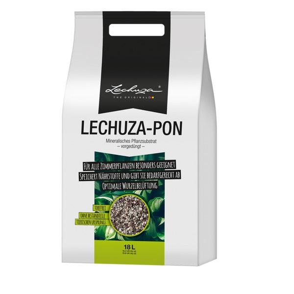 Lechuza Pon [Update] 6x18l + Dünger für Bestpreis 0,73€/l oder 3x18l 54 Liter Pflanzensubstrat Literpreis 0,86€/l