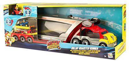 [Amazon] IMC Toys 183858 – Disney – Mega-Autotransporteur Micky und Seine Freunde, inkl. 1 Micky-Auto