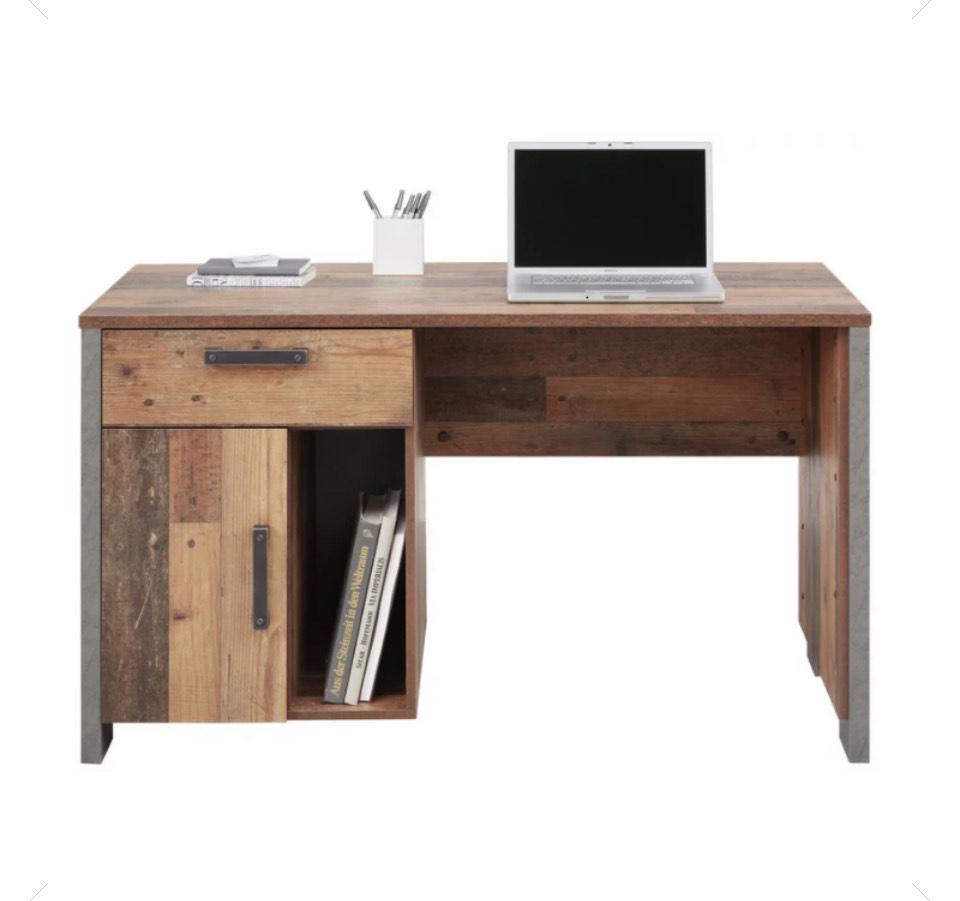 Schreibtisch in Braun für 111,30€ inkl. Versand (statt 199€)