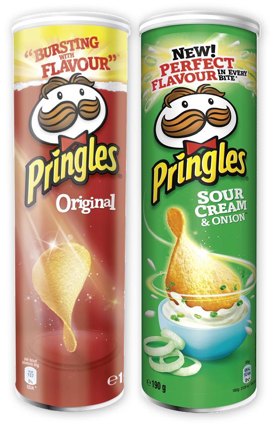 [Selgros App] Pringles | 180-200g Dose | verschiedene Sorten