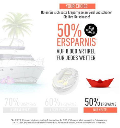 50% Rabatt bei dress for less