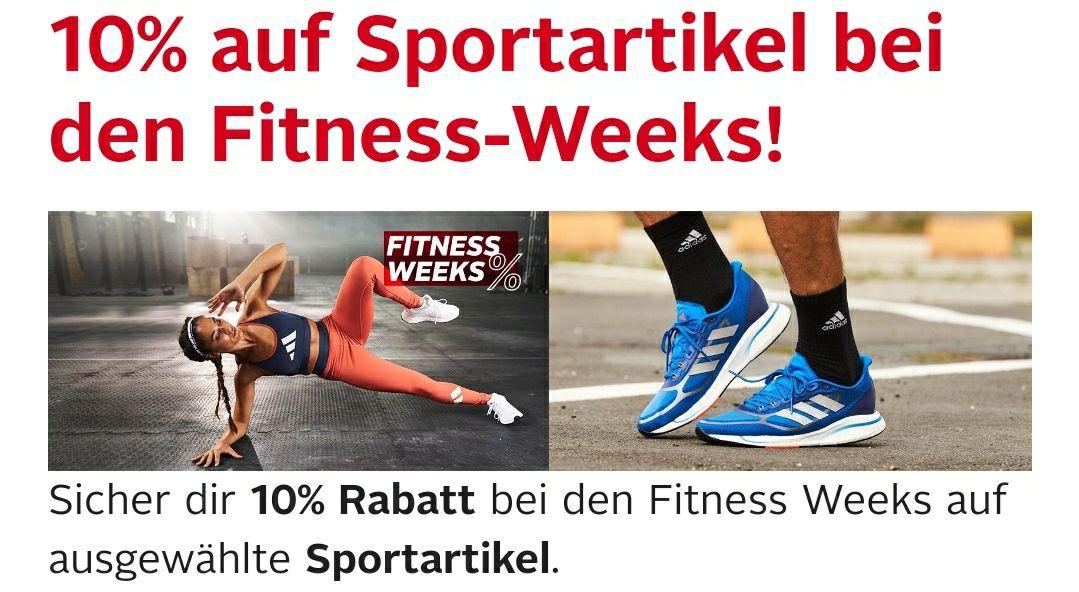 [OTTO] Fitness Weeks - 10% Rabatt auf viele Artikel aller Sportbereiche