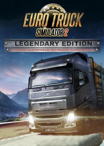 Euro Truck Simulator 2 – Legendary Edition (Steam Key, Win/Mac/Linux, multilingual, Sammelkarten, Metacritic 79/8.7)