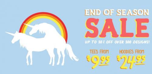 Zip-Up Hoodies $19,95-24,95 im SALE bei Threadless  & $9.95 T-Shirts
