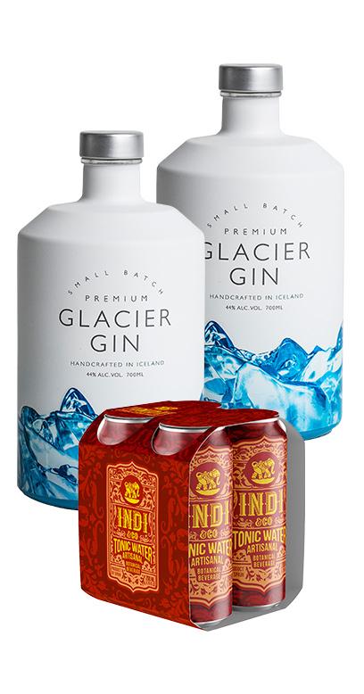 Cooles Gin & Tonic Bundle gefunden! Mit isländischen Premium Gin!