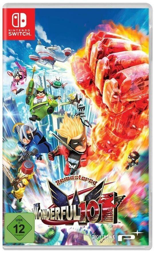 Nintendo Switch-Spiel The Wonderful 101 Remastered