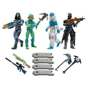 [coolshop.de] FORTNITE FNT0109 Squad Mode, 4-er Figuren Set Serie 2, je 10 cm groß