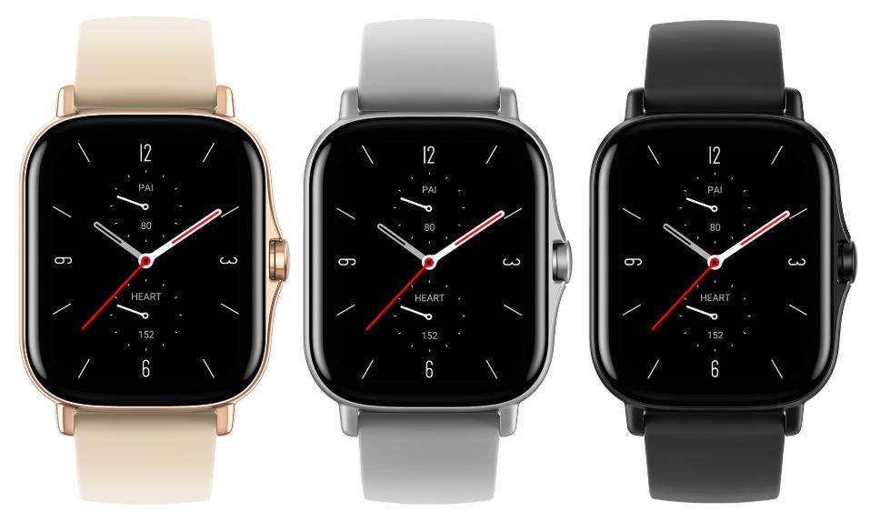 "Amazfit GTS 2 Smartwatch (1.65"" OLED-Display, Bluetooth 5.0, GPS, 246mAh)"