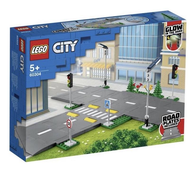(Thalia KultClub) LEGO® CITY Straßenkreuzung mit Ampeln