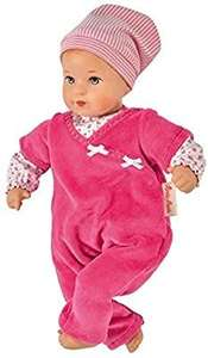 [Amazon] Käthe Kruse Baby-Puppe Mini, Bambina Lisa mit weichem Körper, Pink, 33cm, Made in Europe