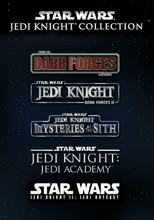[PC Steam] Star Wars Jedi Knight Collection: Jedi Outcast + Jedi Academy + Mysteries of the Sith + Dark Forces I & II für 3,75€ (Allyouplay)