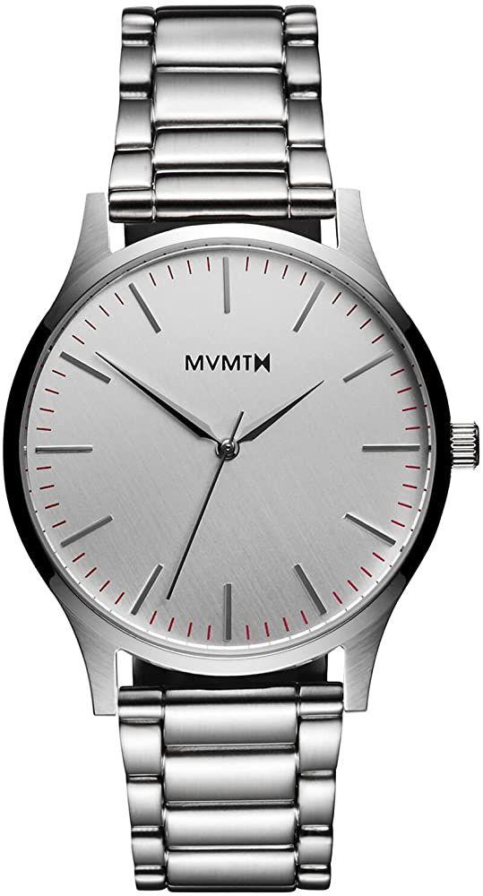 MVMT Herren Analog Quarz Armbanduhr D-MT01-S