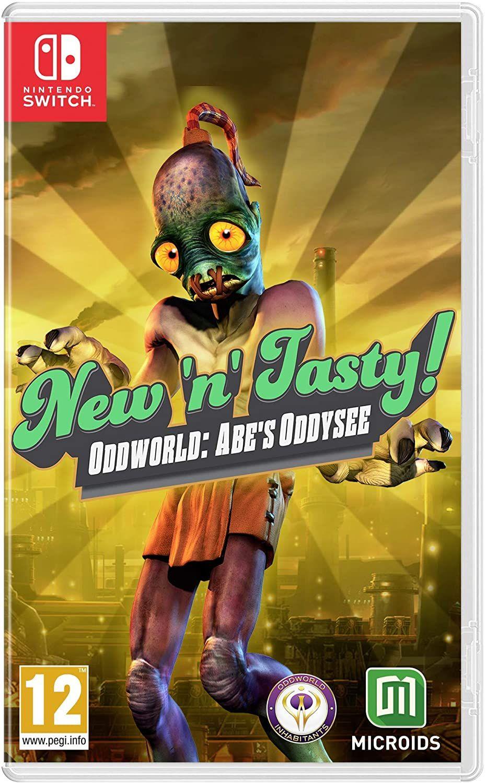 Videospiele Sammeldeal z.B Oddworld New'n' Tasty!(Switch) [Amazon.fr]