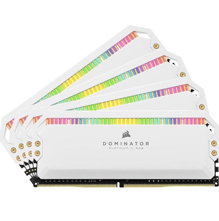 32GB (4x8GB) Corsair Dominator Platinum DDR4-3200 CL16 (16-18-18-36) DIMM-Kit