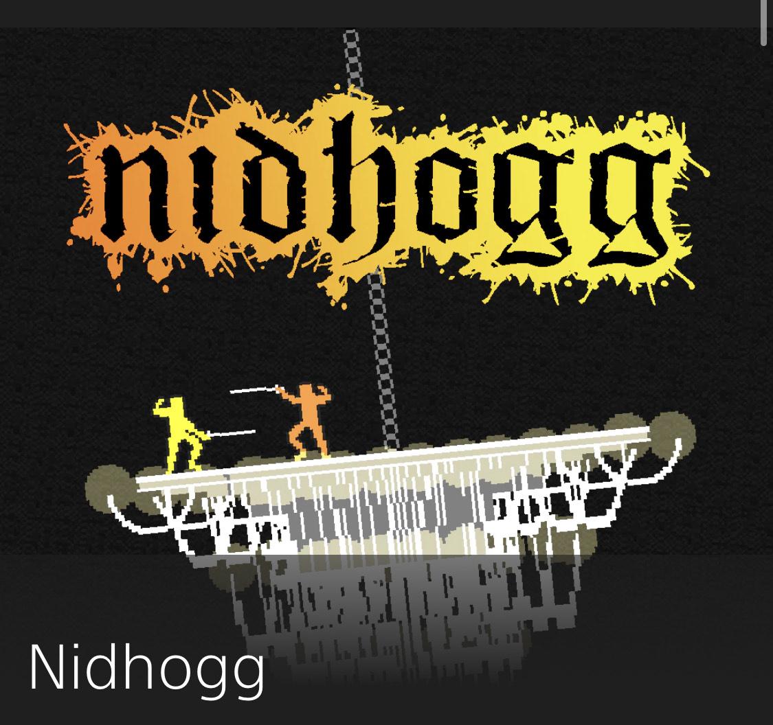 Kultspiel NIDHOGG für die Playstation im PS Store