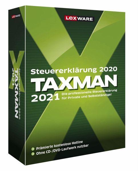 Taxman 2021 (für das Steuerjahr 2020) für 18.99 bei Bücher.de