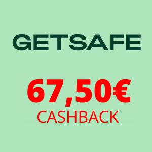 GetSafe Rechtsschutzversicherung dank Cashback mit ~48,82€ Gewinn (oder fast 4 Monate kostenlos)