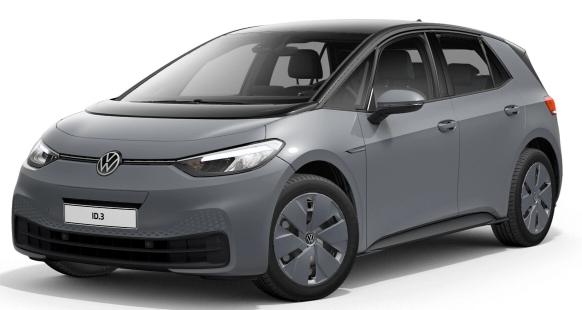 Privatleasing: VW ID 3 Elektro / 150PS (konfigurierbar) für 169€ (eff 189€) monatlich - LF:0,54
