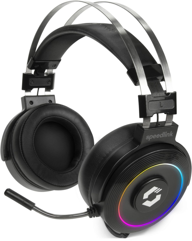 SPEEDLINK ORIOS RGB 7.1, Over-ear Gaming Headset Schwarz [Saturn & Mediamarkt]