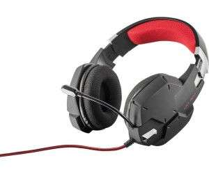 TRUST GXT 322 Carus, Over-ear Gaming Headset Schwarz [Saturn Abholung & Amazon]