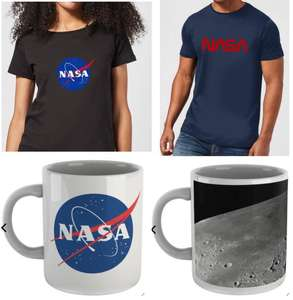 NASA Bundle aus T-Shirt + Tasse