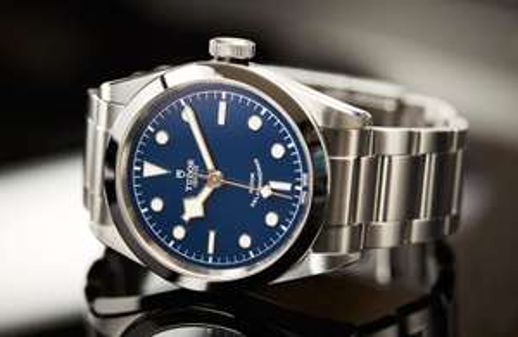 Tudor Heritage Black Bay 41 Blau Automatikuhr Herren - Swiss Made Luxusuhr