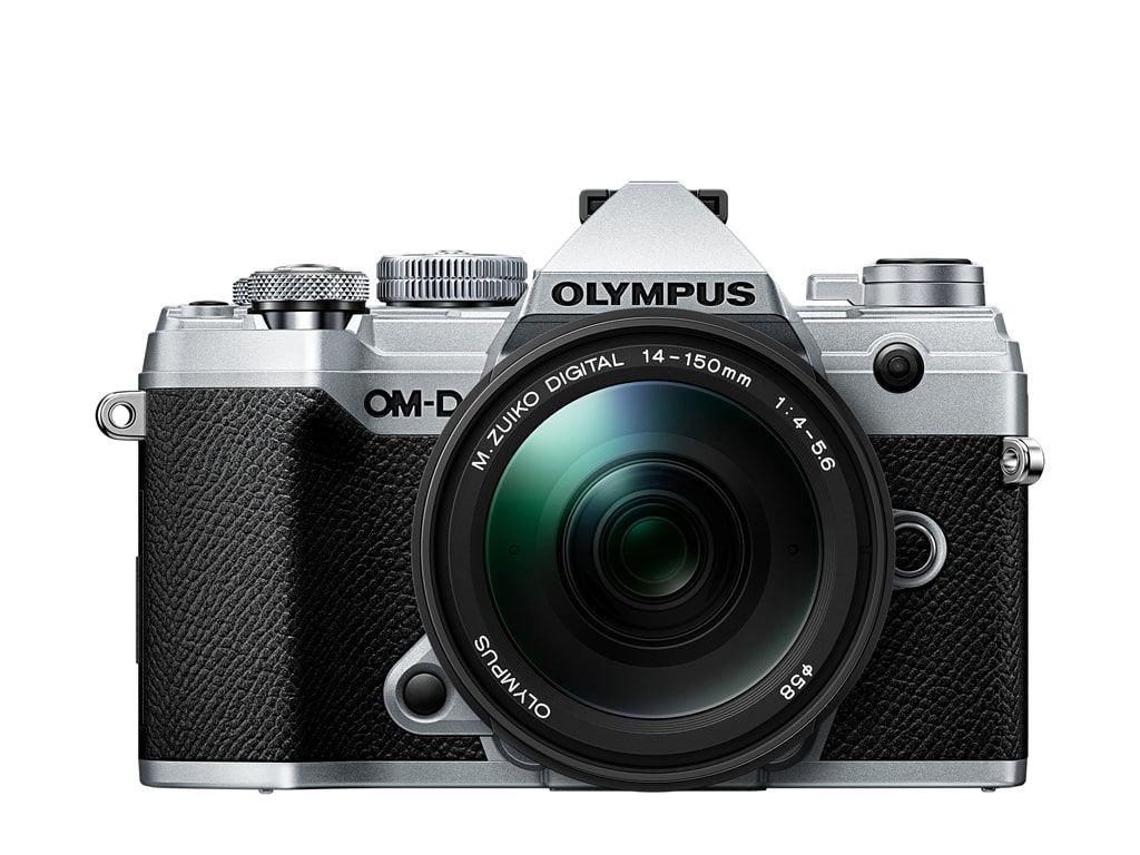 Olympus OM-D E-M5 Mark III MFT Systemkamera silber + M.Zuiko Digital ED 14-150mm 1:4,0-5,6 II Objektiv Kit
