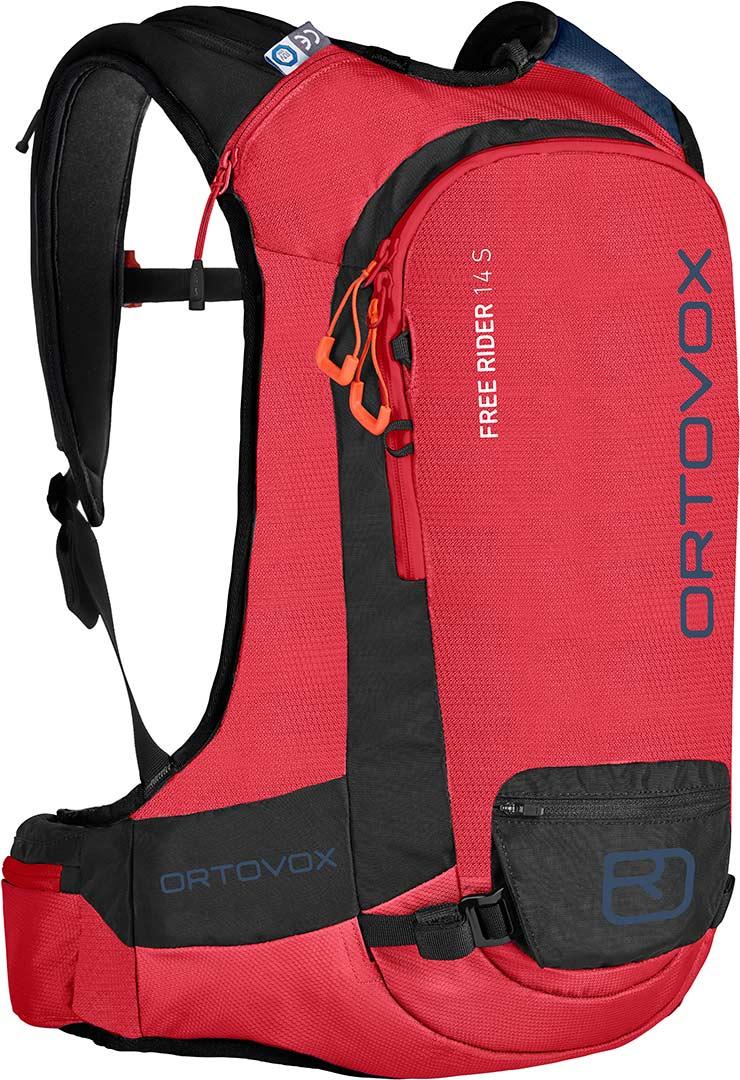 ORTOVOX Free Rider 14 S Damen Freeriderucksack / hot coral