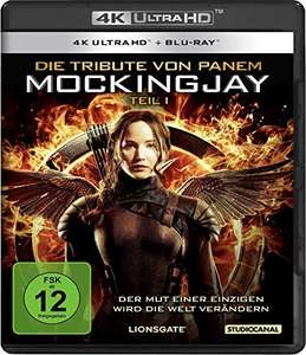 [amazon.de] Die Tribute von Panem - Mockingjay 1 (4K Ultra-HD) (+ Blu-ray)