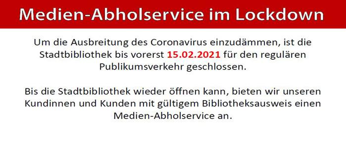Medien der Stadtbibliothek Siegburg kostenlos vormerken [lokal]