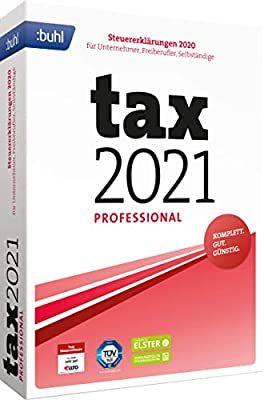 Buhl data service GmbH Tax 2021 Professional (für Steuerjahr 2020 | Standard Verpackung) [Prime[