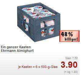 [Lokal Berlin-Biesdorf, Eiche] Kasten Almighurt Glas 500gr@Kaufland