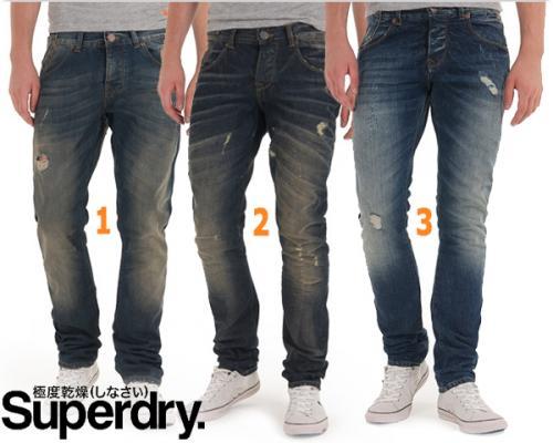 Superdry Herren Jeans für 45,90 € / Vergleichspreis 109,95 € @ guut.de