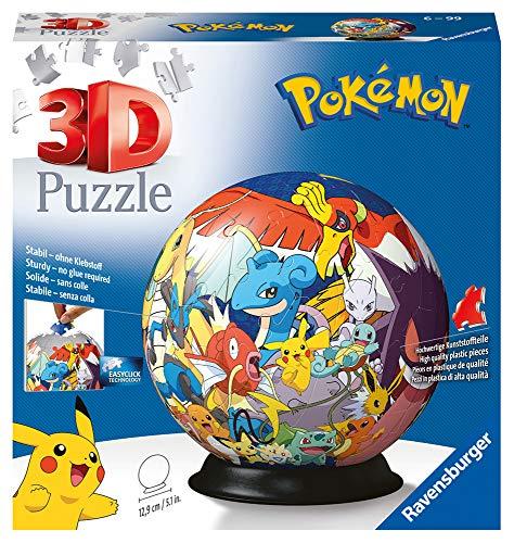 [Amazon Prime] Ravensburger 11785 Ball Pokémon Pokemon Puzzle, Mehrfarbig, 72 Teile, ab 6 Jahren (Vorbestellung)