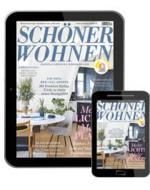 Schöner Wohnen Abo (12 ePaper Ausgaben) für 44,08 € mit 45 € BestChoice-Gutschein (Kein Werber nötig)