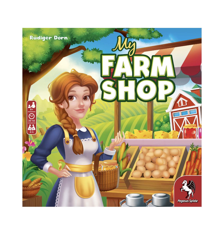 (Thalia) My Farm Shop 2020, Pegasus, Brettspiel, Familienspiel
