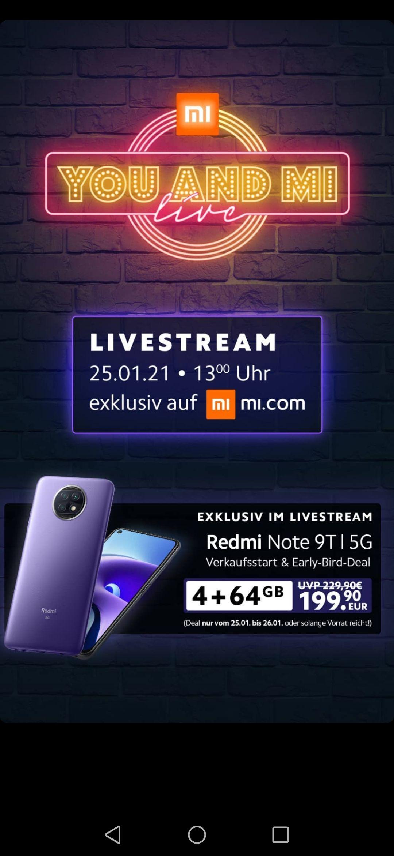 Xiaomi Redmi Note 9T 5G 4/64 GB